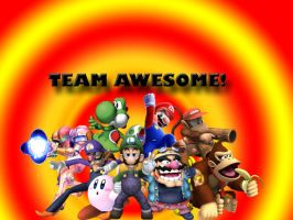 TEAM AWESOME. by ShadowSmasher