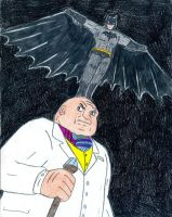 Batman vs The Kingpin by Jose-Ramiro