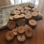 Woodburned Elder Futhark Rune Set by AsliBayrak