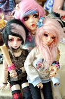 Dollmeet in the Netherlands x3 - 01 by prettyinplastic