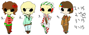 Christmas adopts by Lord-Hill