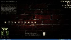 Bricked for Rainmeter 1.0 by Robak08