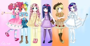MLP - Lolita Style by Sironien-Winter