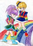 Rainbow and Stormy 2 by lilmiss-sailorenigma