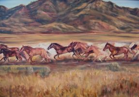 Wild Horses 2 by Wulff-Arts