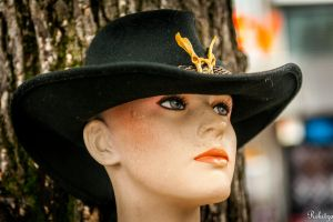the look under the hat brim -Lusty close-up series by Rikitza