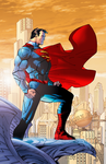 Jim Lee's Superman (New 52 style) by Alexbadass