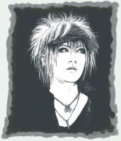 Ruki - Gazette . PaintChat by Kyunai
