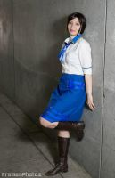 Elizabeth Cosplay (Just leaning) by SapphireEagle