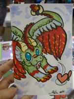 Colorful Dragon by CritterKat