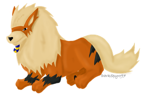 Egyptian Arcanine by DarkIgnitus97