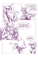 Unintentionally Spreading Happiness, Part 3 by MoonlitBrush