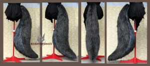 Huge wolf tail by MissRaptor
