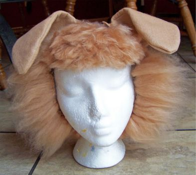 honey colored puppy wig WIP by user-name-not-found