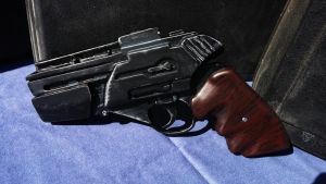 Battlestar Galactica S1 Colonial Sidearm by Goomba-Squad