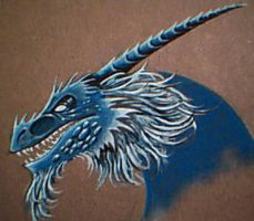 Color Theory Dragon by corpsewraith