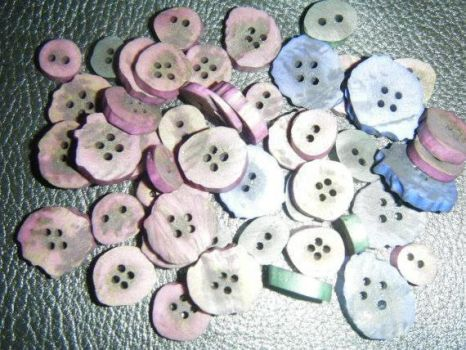 Antler Buttons by Kagome26201