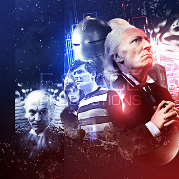 Doctor Who The Sontarans Cover Art Remake by E-SPACE-Productions