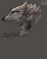 Wolf Sketch by Akadafeathers