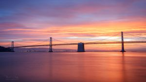 .:Bay Bridge Sunrise:. by RHCheng