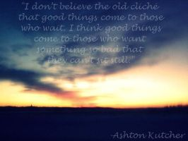 Ashton Kutcher Quote. by lovee-photography