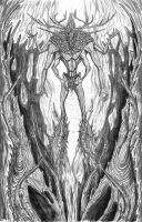 Forest God by Baetones