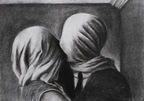 Magritte - The Lovers by Suraj28