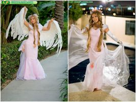 Goddess Belldandy by yayacosplay