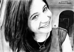 portrait-drawing by mary11dc