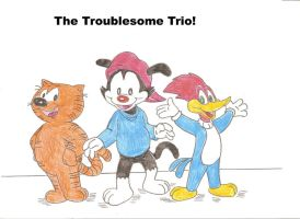 The Troublesome Trio by Jose-Ramiro
