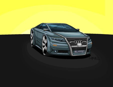 Audi K14 Concept On Paint by imankia