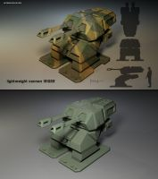 lightweight cannon by Eon-Works
