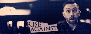 Rise Against. Signature by Doom-and-Dawn