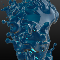 Water Elemental Detail by m-clone