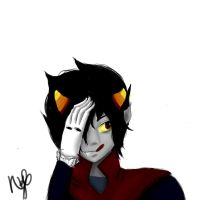 Vampire Karkat by NicoTheChan