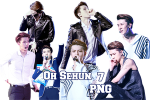 EXO Sehun PNG Pack {The Lost Planet in Taipei} by kamjong-kai