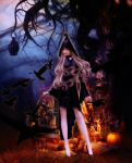 Witch and Crows by Fae-Melie-Melusine