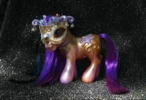 Bronzed Belle Masquerade pony by Cuddlyparrot
