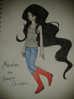 Marceline the Vampire Queen by PuppetMasteroftheSea