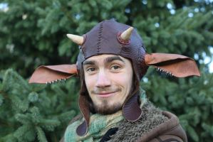 Faun Hat- Aviator by liontroll