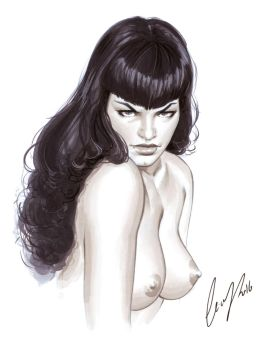 Bettie Page markers by Elias-Chatzoudis