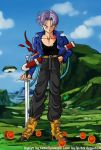 Dragonball Trunks Brief color by Nostal