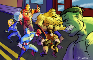 Marvel Finished 4-19-14 BH by sman118