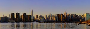 NYC Panoramic by Lorddarphyve