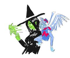 Wicked Witch of the West by jdcunard
