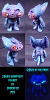 Zombie CrappyCat Conversion by Undead Ed by Undead-Art