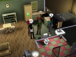 SIMS 3: The Blame Game by Aubergine-Jeri