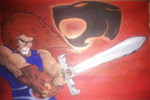 Lion-0 Lord of the Thundercats by 2D-Assassin