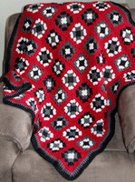 Granny Square Rug by 0-kelley-0