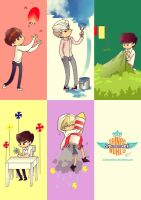 SHINee VCR JAT by Pulimcartoon